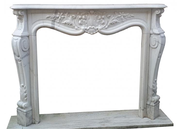 Camino In Marmo Bianco : Camino in marmo bianco statuario antichità daziano
