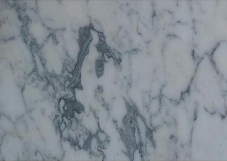 Pedata Gradino Retto In Marmo Arabescato Di Carrara