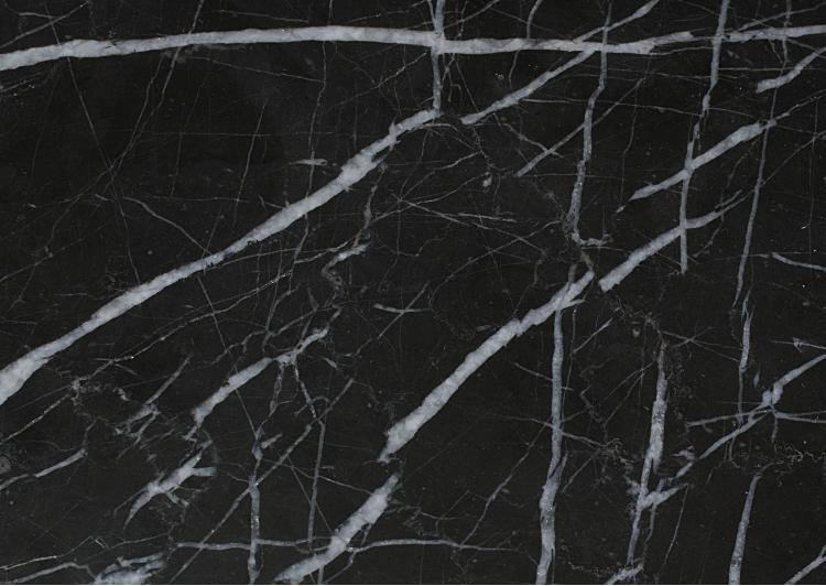 Lastre e piastrelle in marmo nero mq