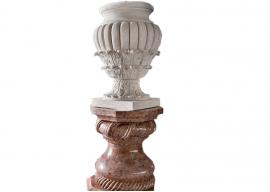 Vase In Pietra Gialla di Vicenza Levigata V-006-A